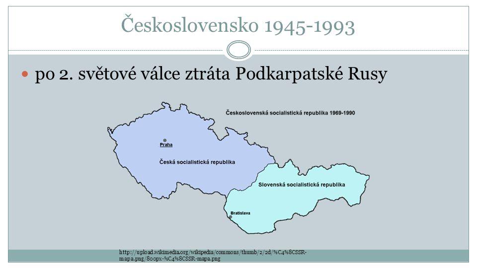 Československo 1945-1993 po 2.