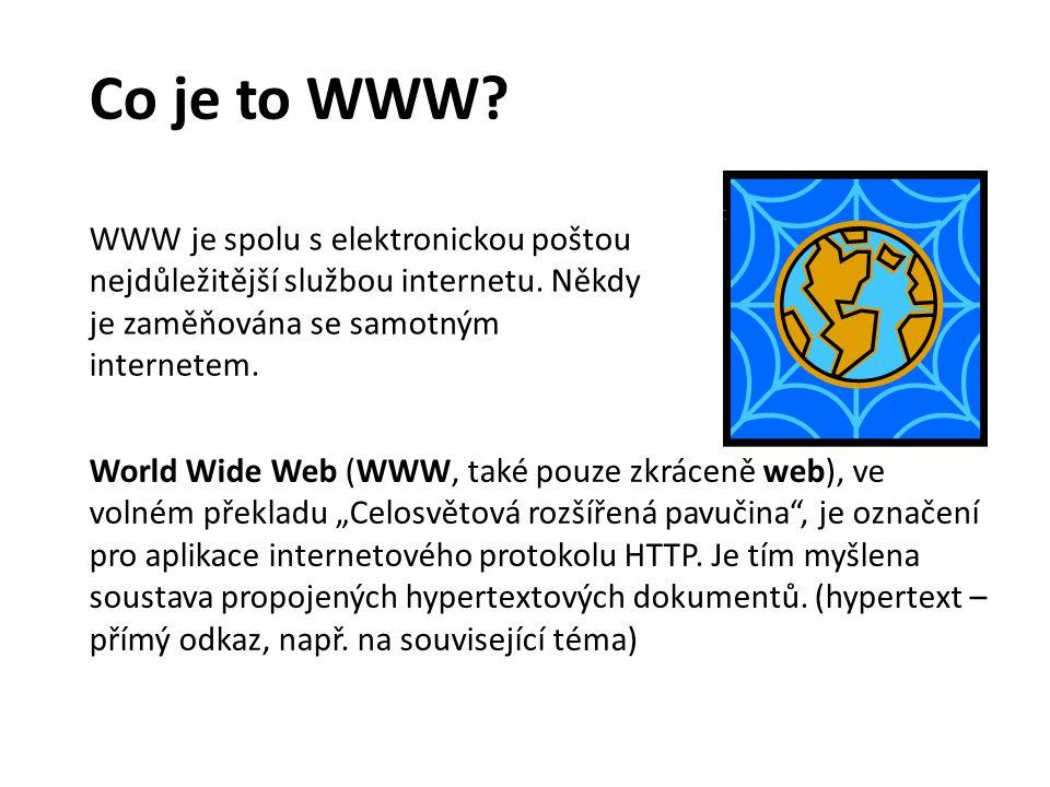 Co je to WWW.