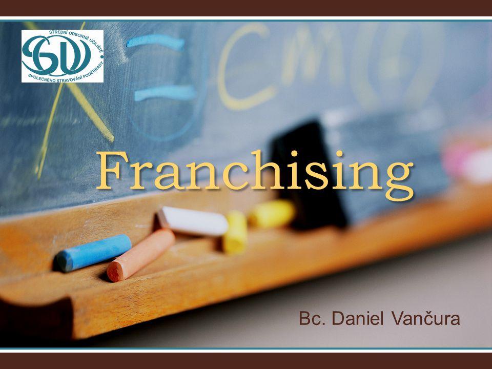 Bc. Daniel Vančura Franchising