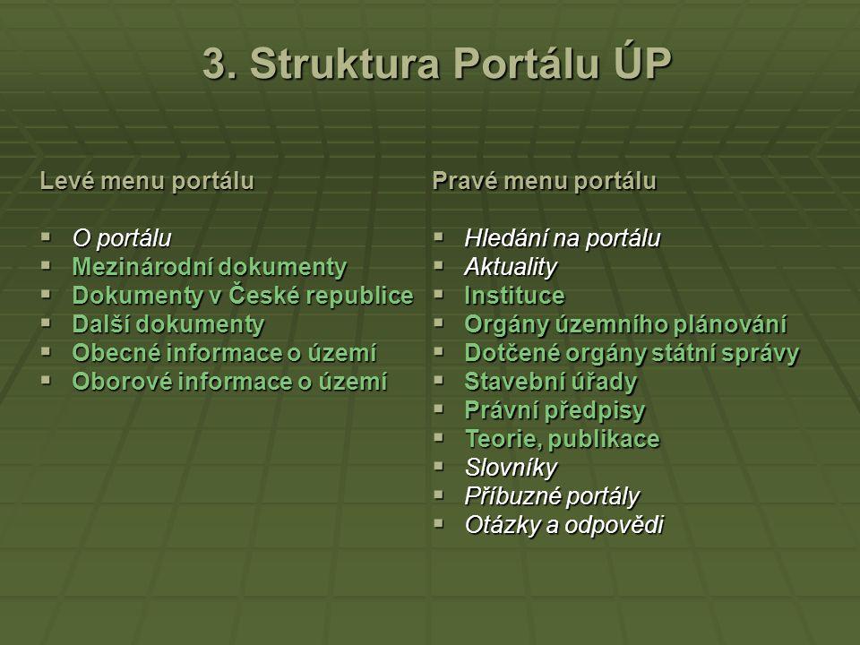Adresa Portálu ÚP http://portal.uur.cz http://portal.uur.cz Portál ÚP – titulní strana