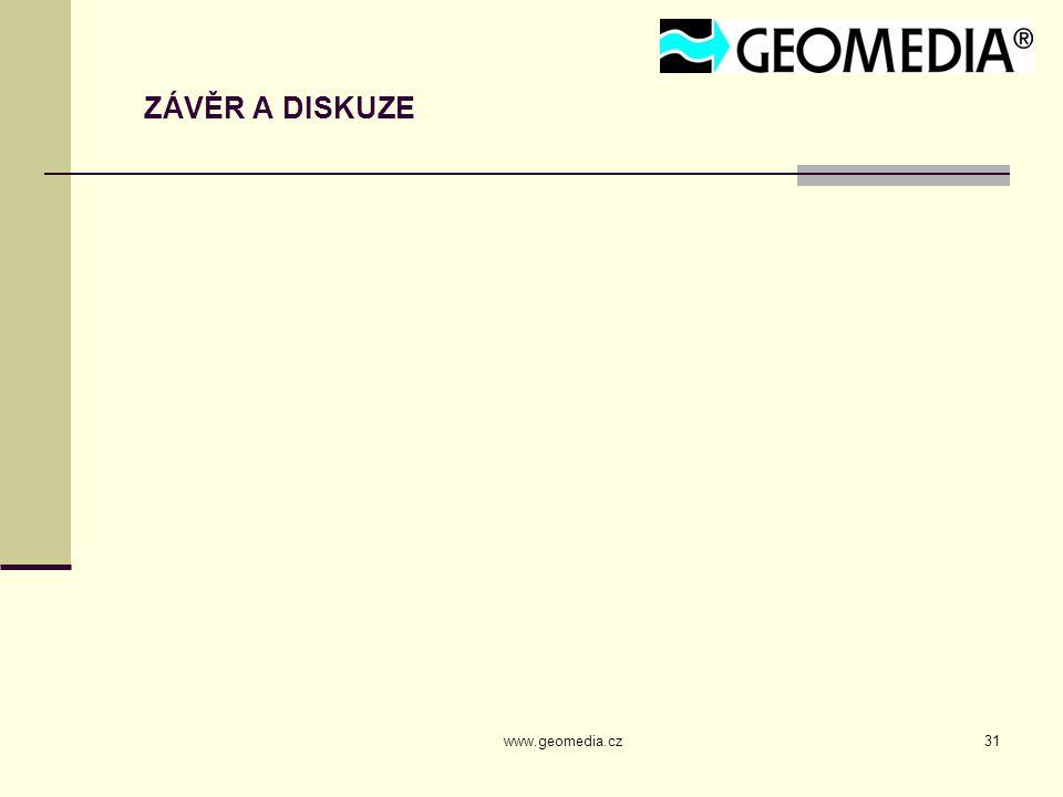 www.geomedia.cz31 ZÁVĚR A DISKUZE