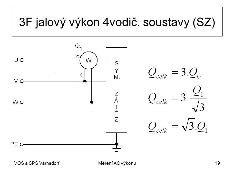 VOŠ a SPŠ VarnsdorfMěření AC výkonu19 3F jalový výkon 4vodič. soustavy (SZ)