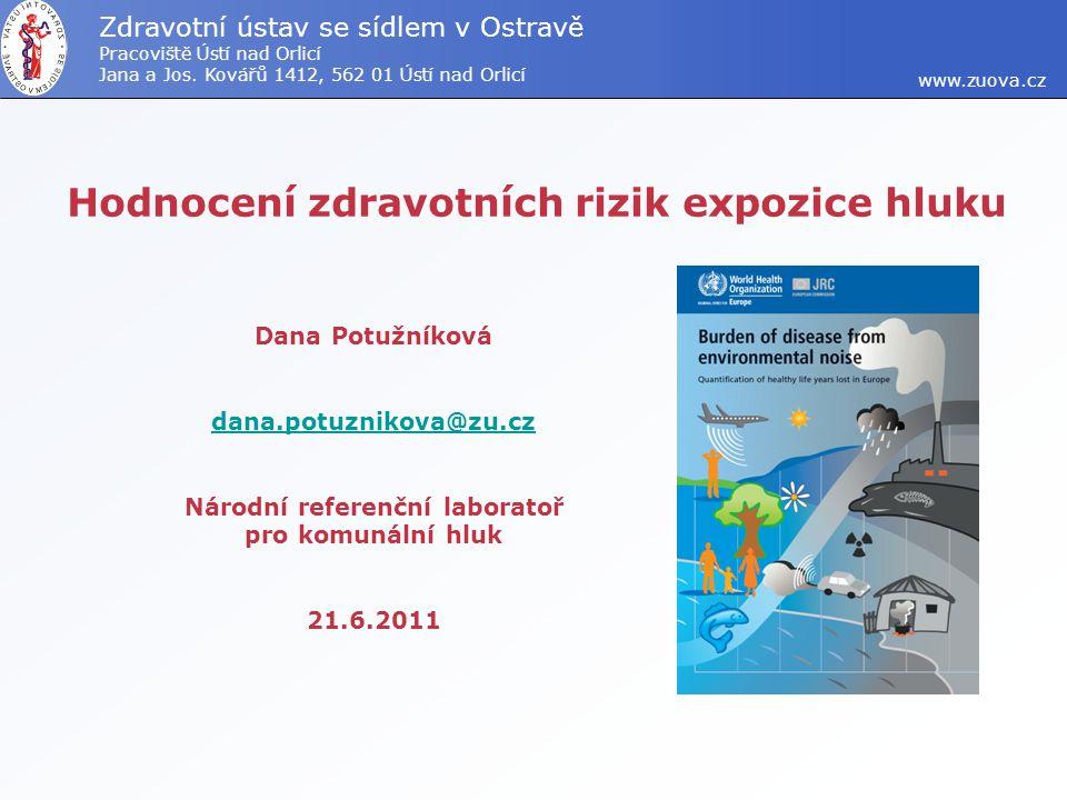 2.10.2008 NRL pro měření a posuzování hluku v komunálním prostředí 12