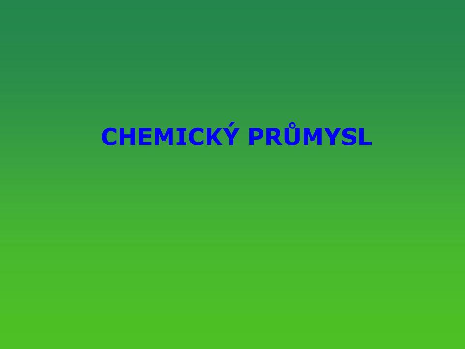 CHEMICKÝ PRŮMYSL