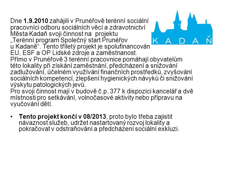 Analytické a koncepční materiály města komunitní plán strategický plán lokálního partnerství strategický plán Kadaně situační analýza soc.