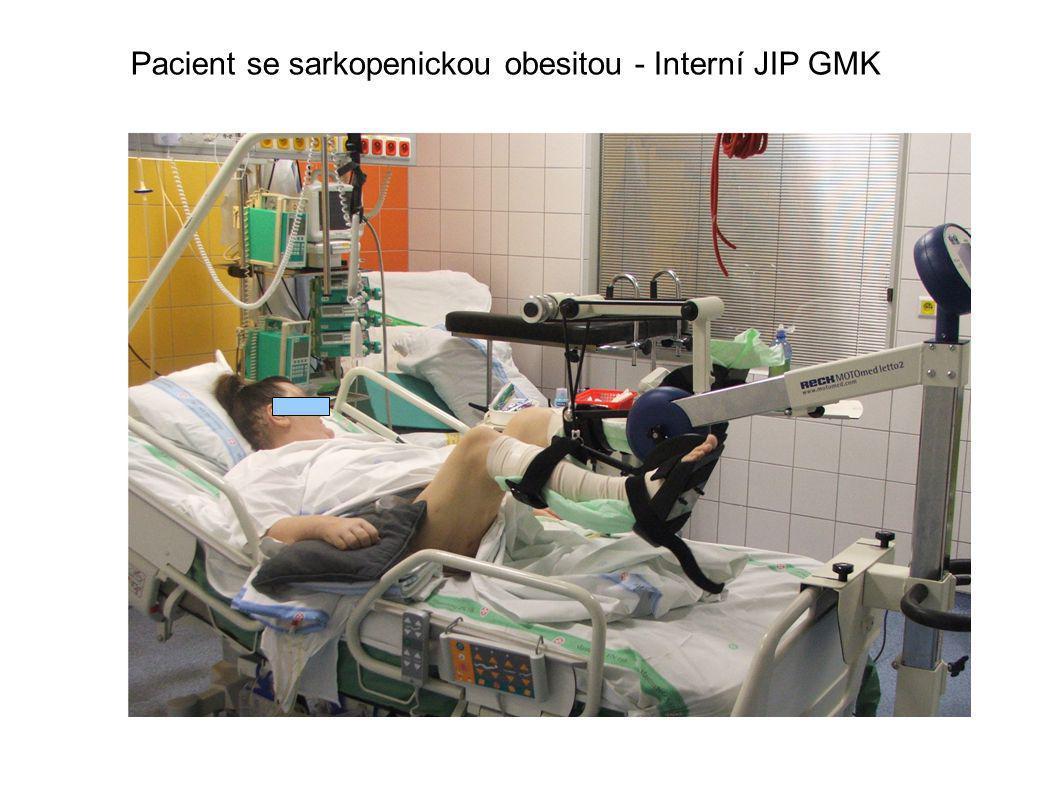 Pacient se sarkopenickou obesitou - Interní JIP GMK