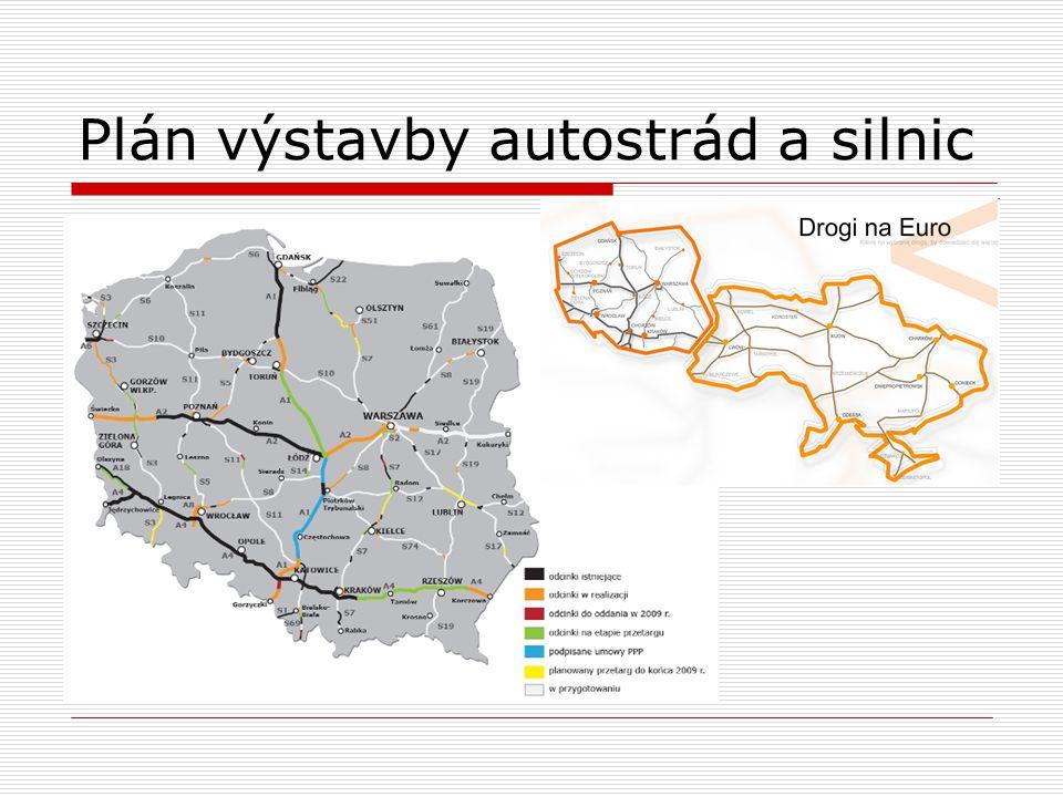 Plán výstavby autostrád a silnic