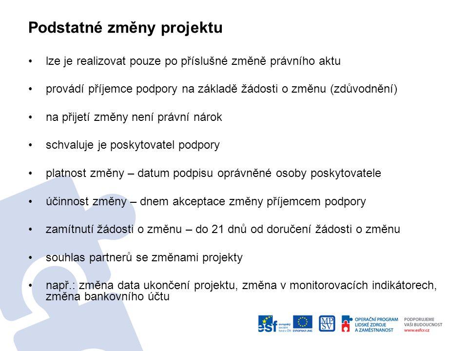 """www.esfcr.cz """" Aktuální Desatero příruček OP LZZ """" Výzva č."""