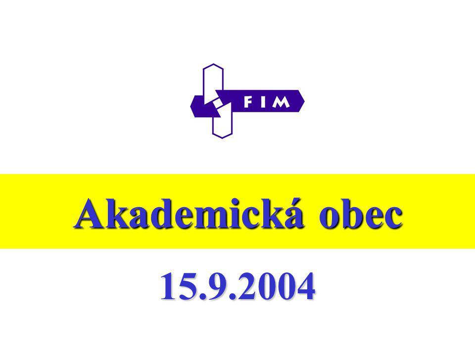 Akademická obec 15.9.2004