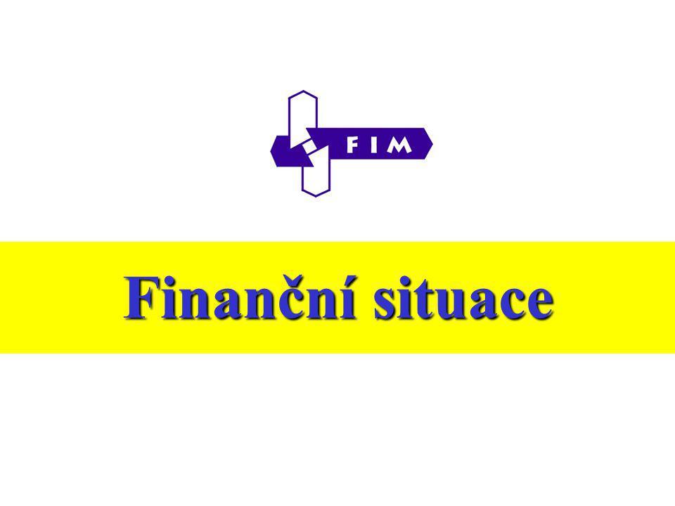 Výroční zpráva o hospodaření za rok 2003 Finanční situace