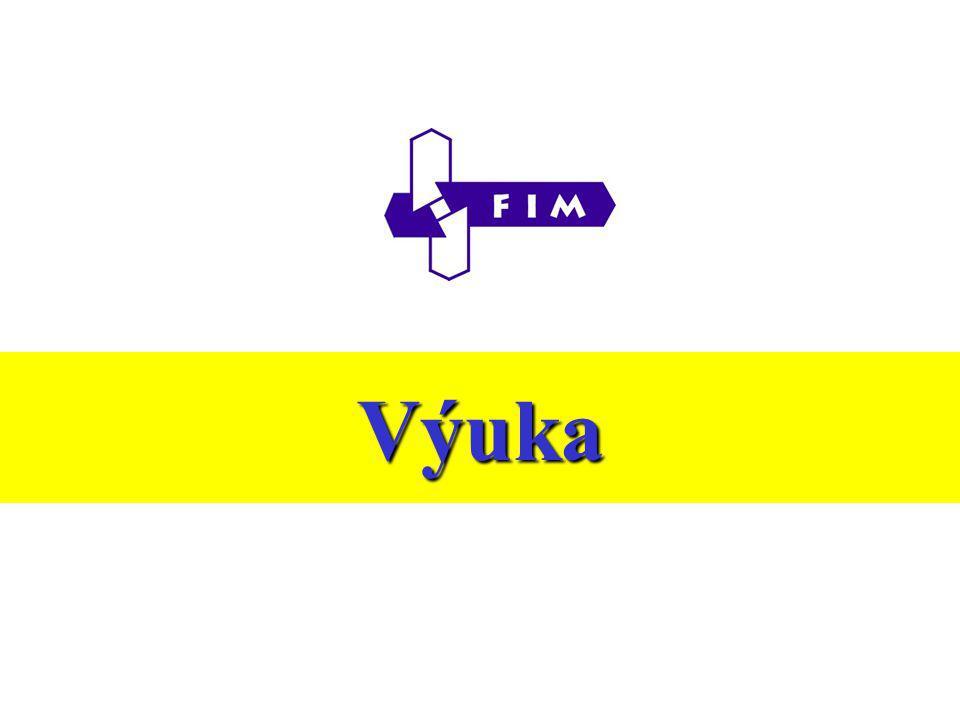 Rok 2003/2004  Přehled studijních programů a oborů a akreditace  Počty přijatých do 1.