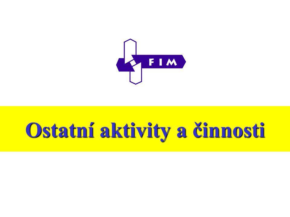 Ostatní aktivity a činnosti