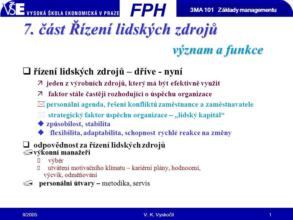 FM II/2005V.K. Vyskočil1 7.
