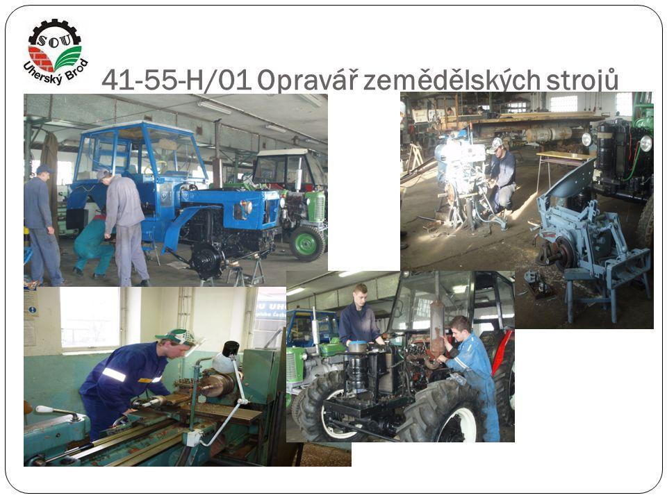 41-55-H/01 Opravář zemědělských strojů