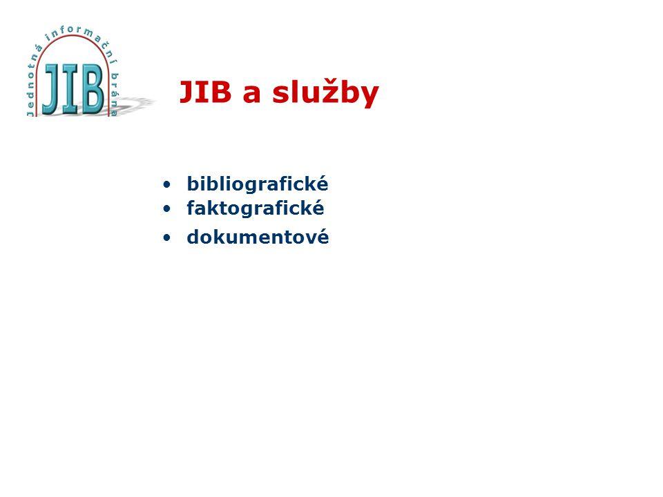 Bibliografické služby Cílem bibliografických služeb je získat a zprostředkovat informace o existenci požadovaného dokumentu Využívané informační zdroje: národní bibliografie katalogy knihoven článkové databáze Co musíme znát.