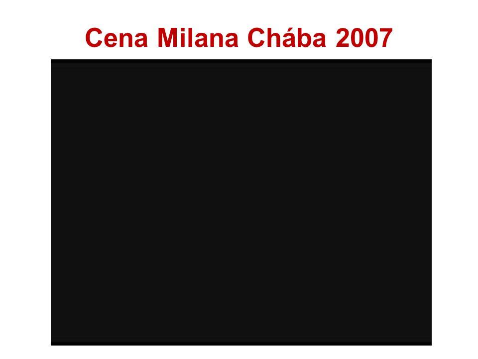 Cena Milana Chába 2007