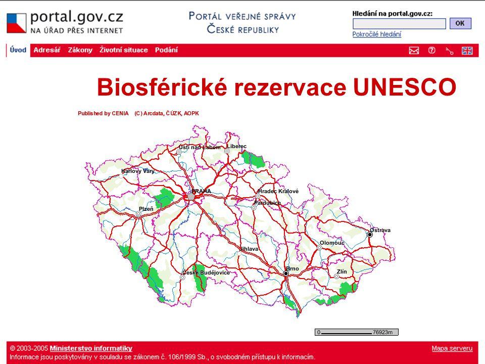 Biosférické rezervace UNESCO