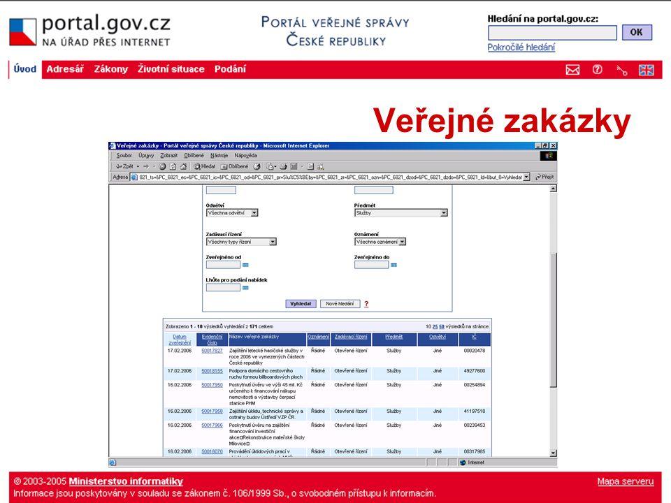 Veřejné zakázky