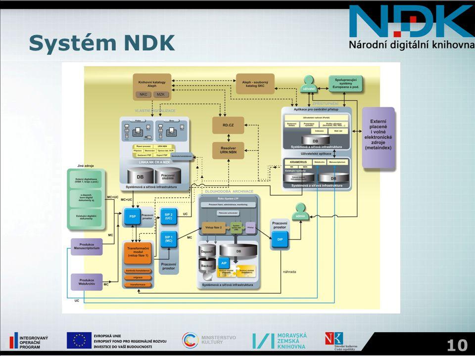 Systém NDK 10