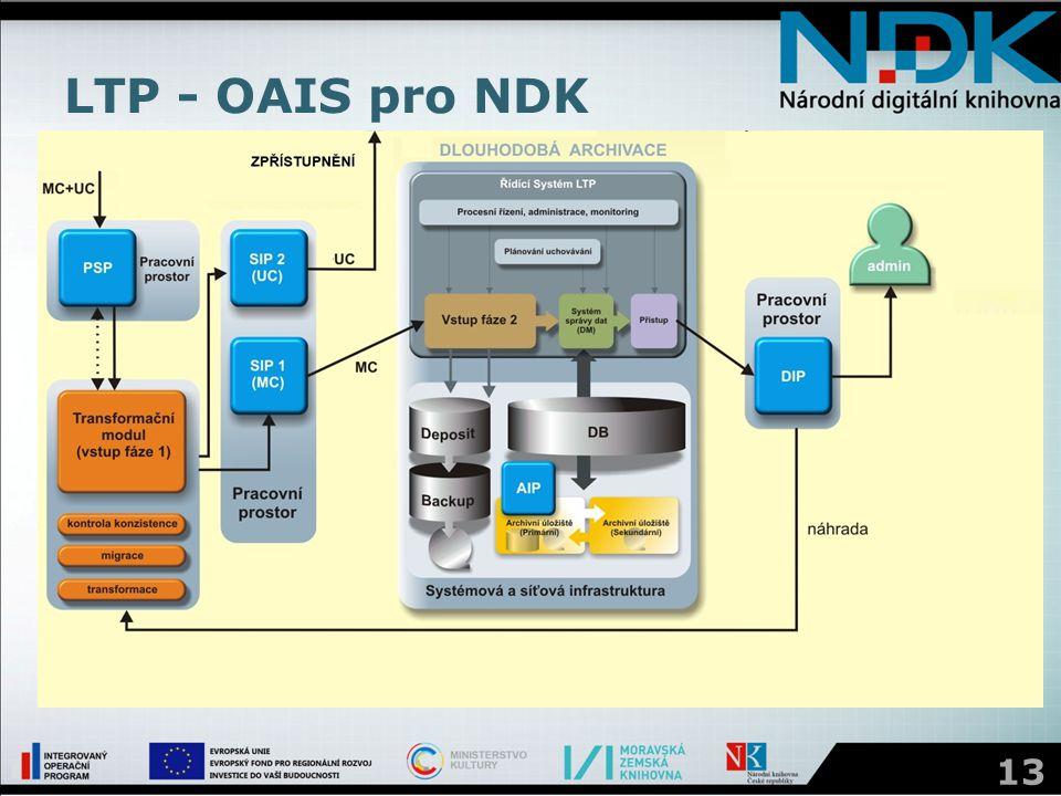 LTP - OAIS pro NDK 13