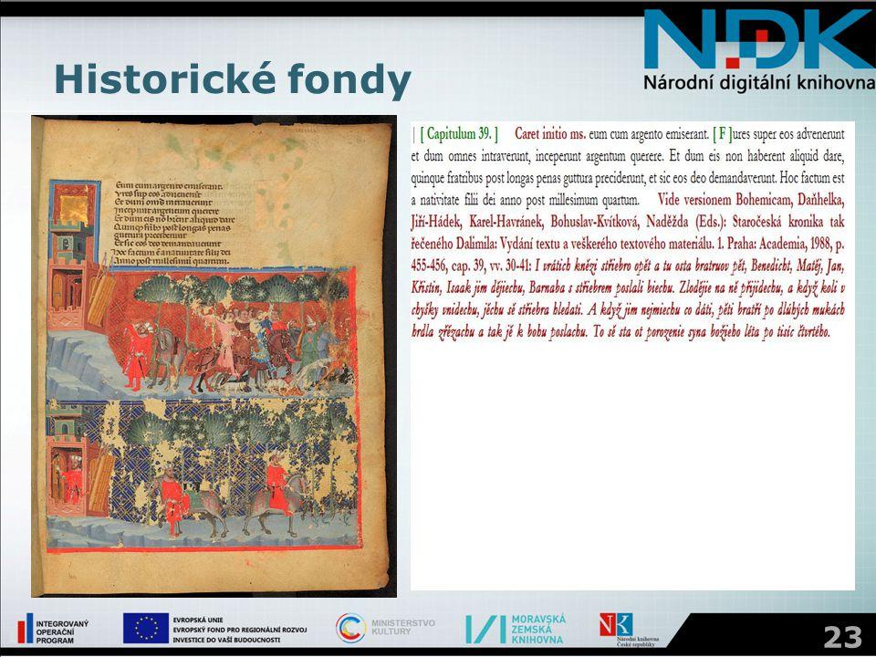 Historické fondy 23