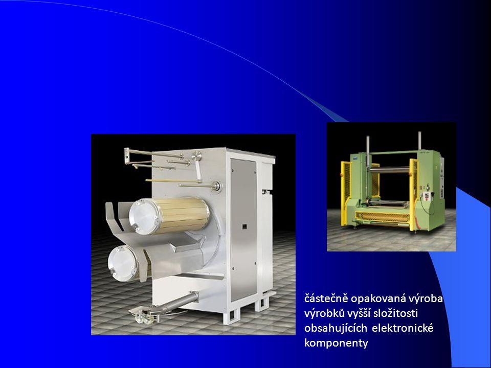 částečně opakovaná výroba výrobků vyšší složitosti obsahujících elektronické komponenty