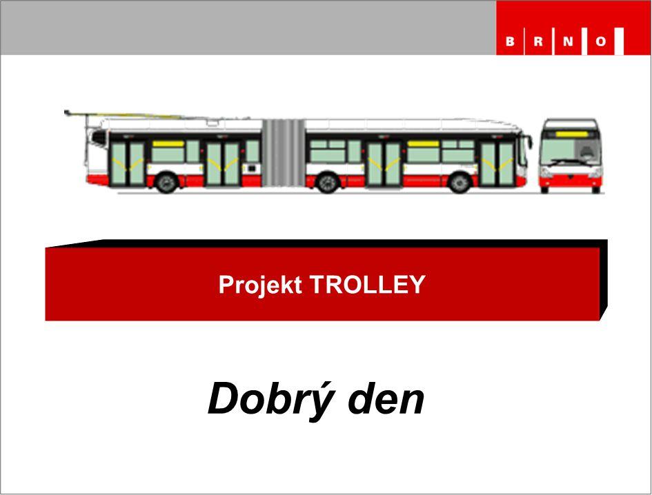 Projekt TROLLEY Dobrý den