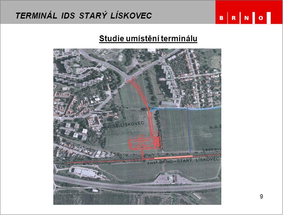 9 Studie umístění terminálu