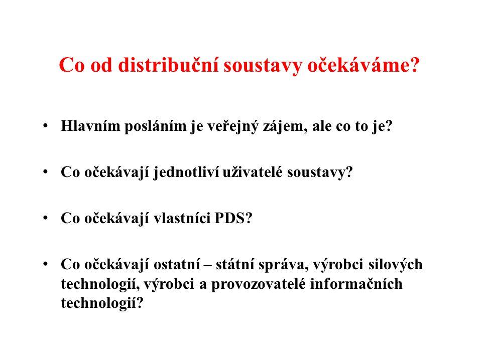 Co od distribuční soustavy očekáváme.Hlavním posláním je veřejný zájem, ale co to je.
