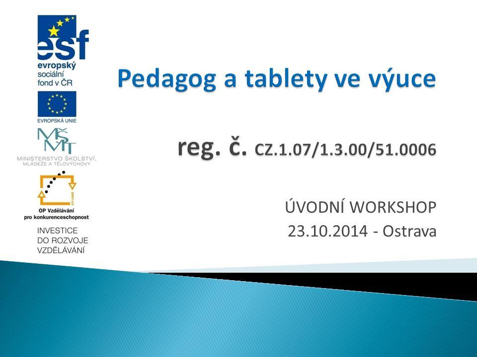 ÚVODNÍ WORKSHOP 23.10.2014 - Ostrava