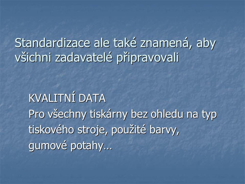 Osvit desek Tiskové desky Kodak Electra Excel HRL Stabilita osvitu – terčíky AGFA, vizuální kontrola Výkonné osvitové jednotky Praha – Xcalibur 45 Sublima XM rastr, hybridní – 340 lpi.