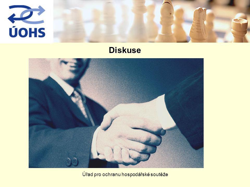 Úřad pro ochranu hospodářské soutěže. Diskuse