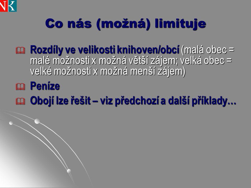 Díky za trpělivost, pozornost a inspiraci.Zlata Houšková, Národní knihovna ČR.
