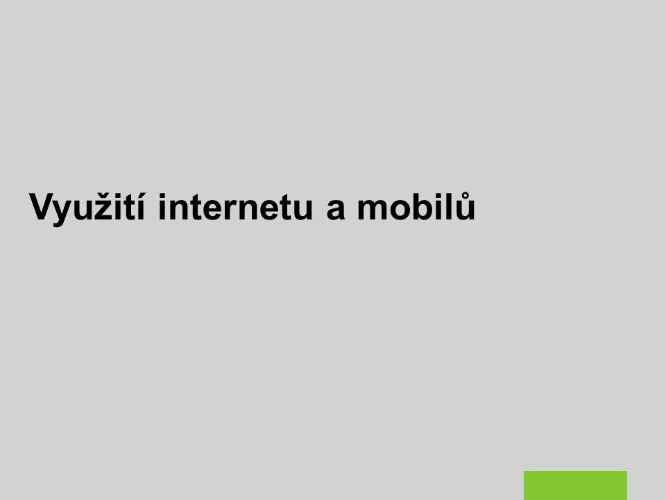 Využití internetu a mobilů