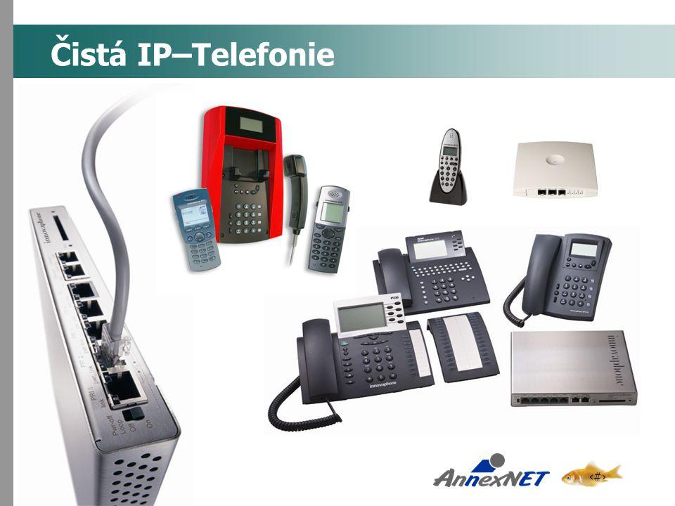 3 Čistá IP–Telefonie