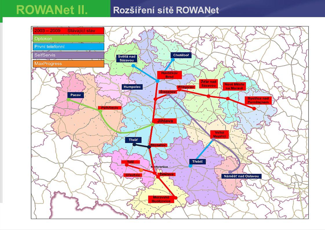 Petr Málek426.11.2014 ROWANet II. Rozšíření sítě ROWANet