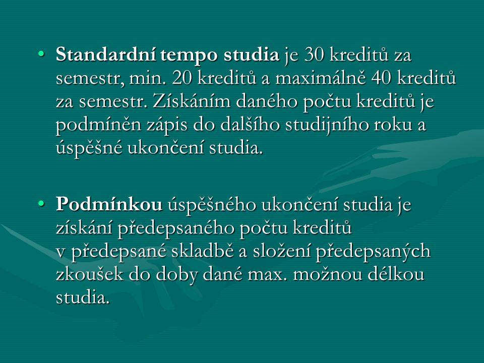 Rozdělení předmětů studijního plánu: –Povinné předměty – jsou takové předměty, které student daného oboru musí absolvovat.
