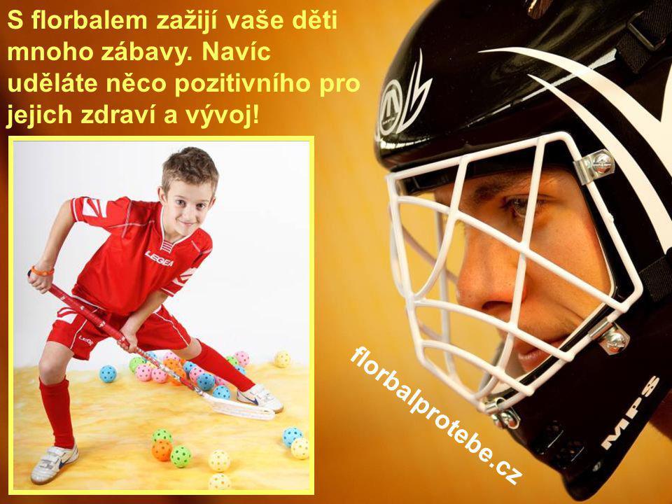 19 S florbalem zažijí vaše děti mnoho zábavy. Navíc uděláte něco pozitivního pro jejich zdraví a vývoj! florbalprotebe.cz