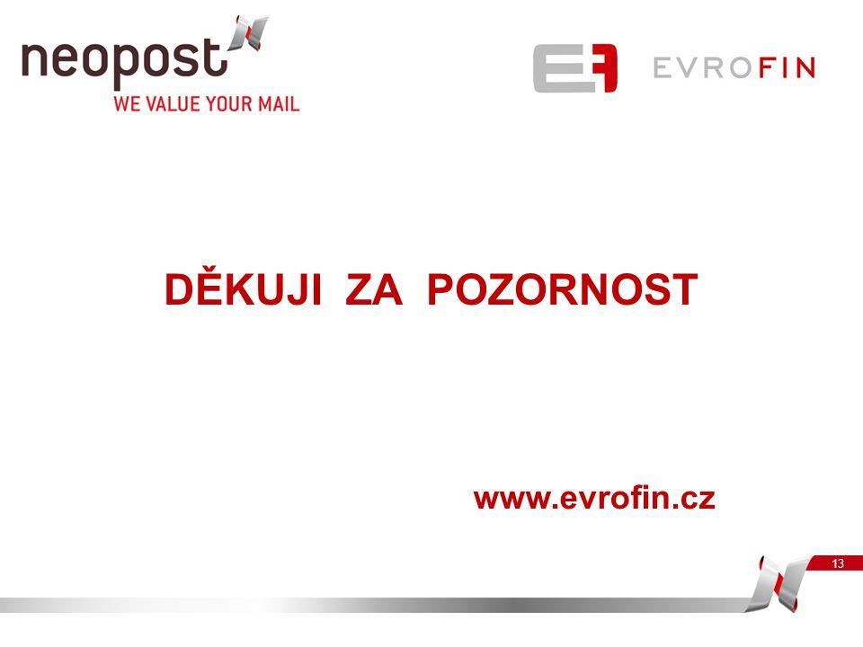 13 DĚKUJI ZA POZORNOST www.evrofin.cz