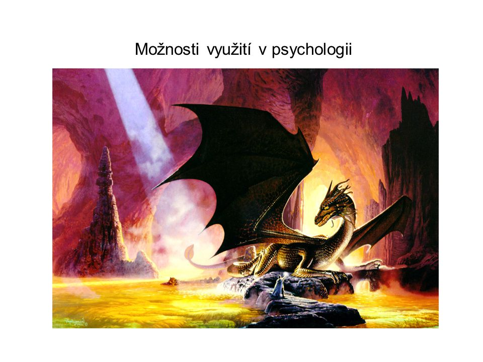 Možnosti využití v psychologii