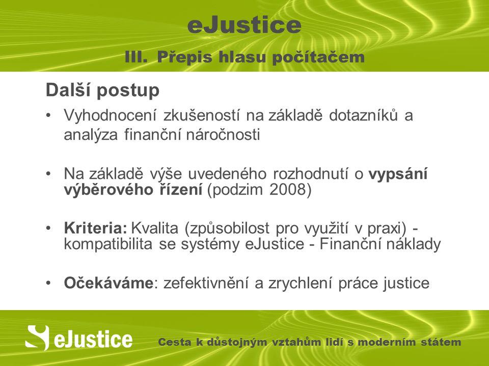 eJustice III.