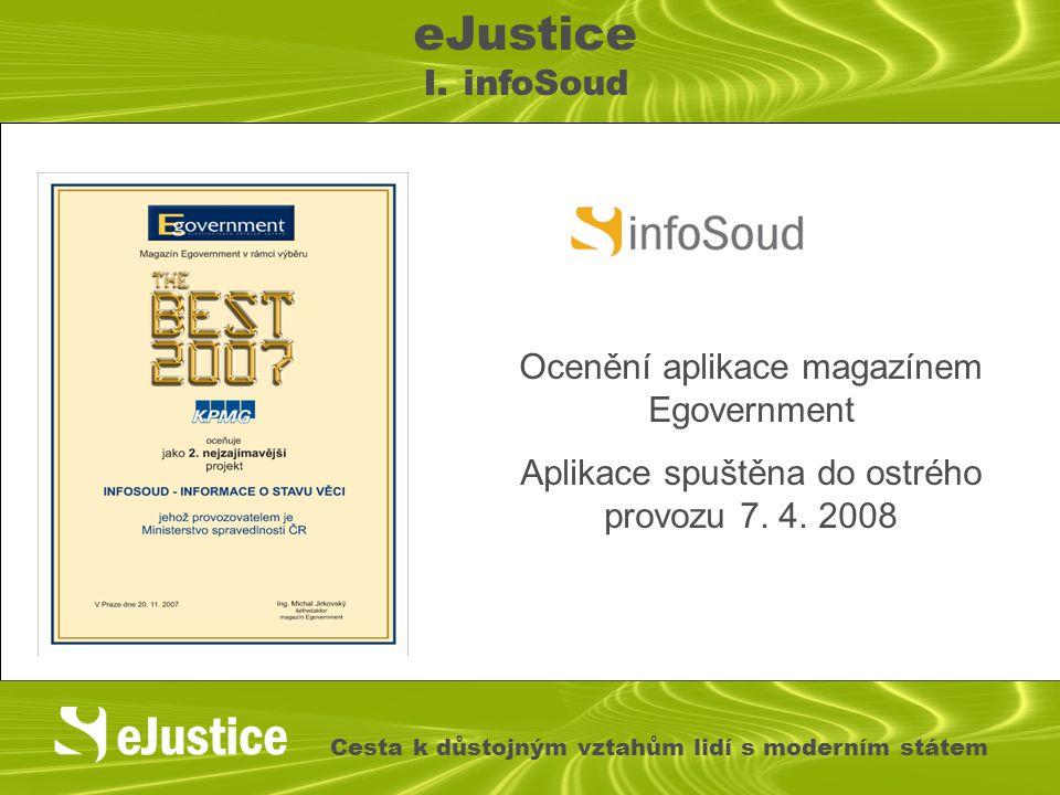 Ocenění aplikace magazínem Egovernment Aplikace spuštěna do ostrého provozu 7.