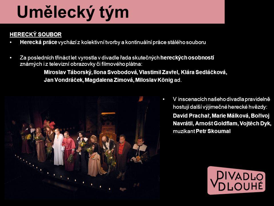 Ročenka Divadla v Dlouhé nabízí rozsáhlejší možnost propagace sponzora.
