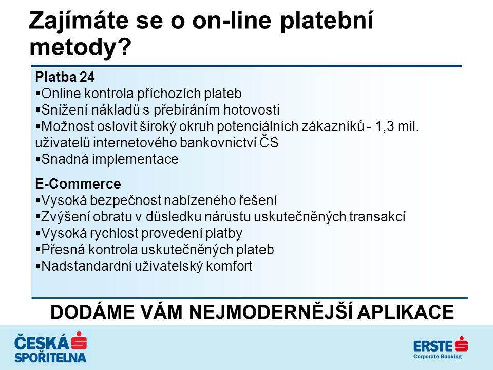 Proč využívat financování franšízingového podnikání v České spořitelně.