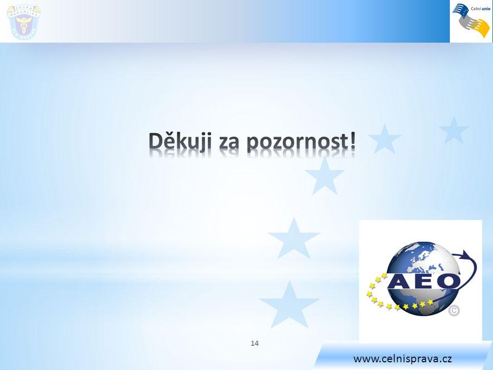 www.celnisprava.cz 14
