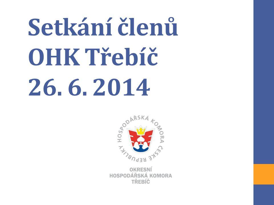 Setkání členů OHK Třebíč 26. 6. 2014