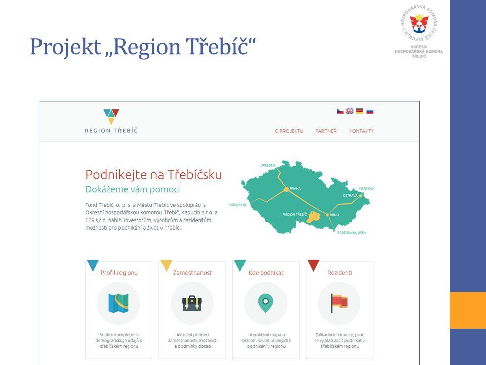 """Projekt """"Region Třebíč"""""""