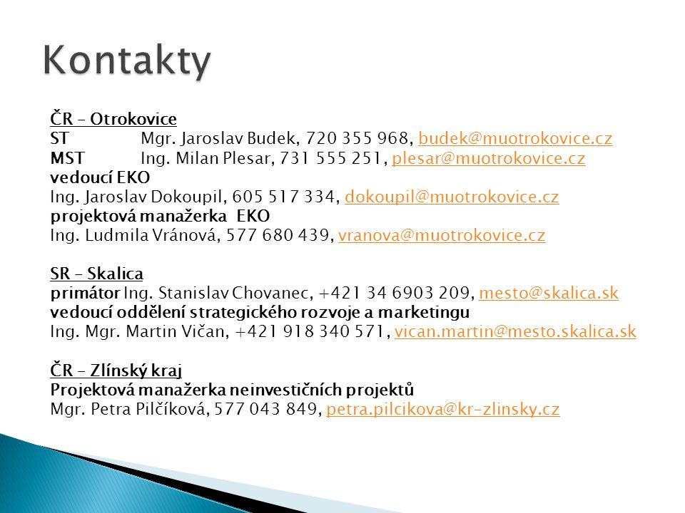 ČR – Otrokovice ST Mgr.