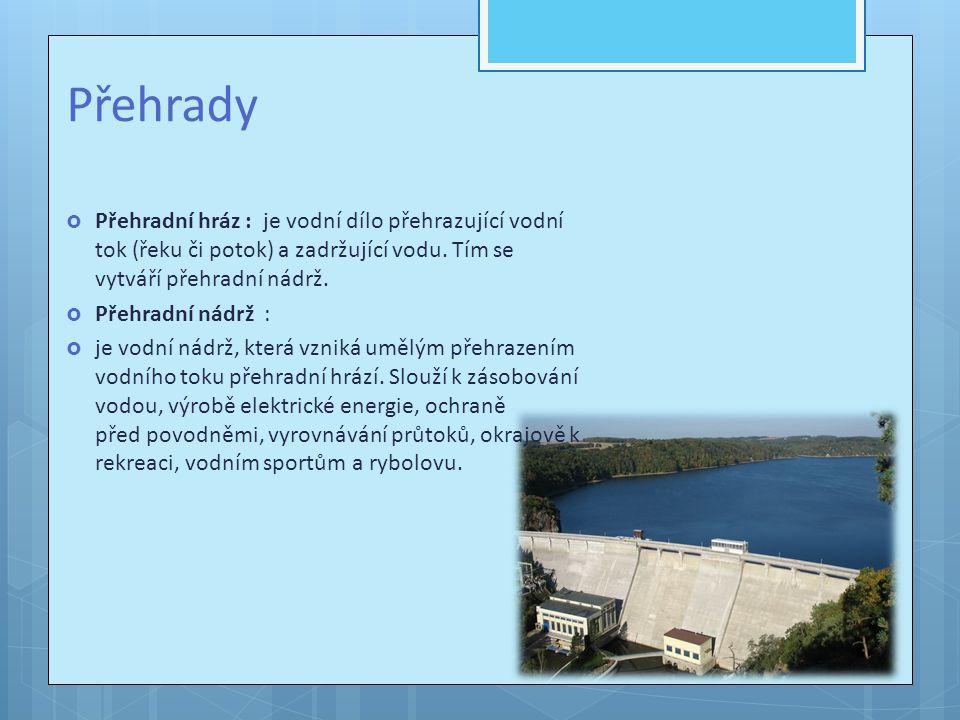  Orlík má z českých nádrží největší objem zadržované vody 703,8 mil.
