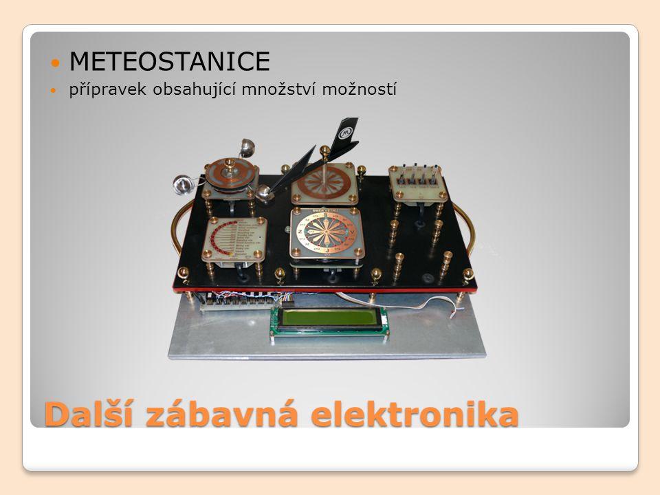 Další zábavná elektronika METEOSTANICE přípravek obsahující množství možností